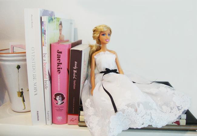 Barbie Noiva ~ Vestidos de noiva em miniatura Inspiraç u00e3o& Photoshop