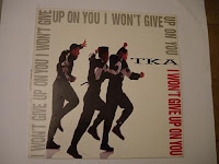 Cover Album of TKA - I Won't Give Up On You (VLS) (1990)