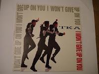 TKA - I Won't Give Up On You (VLS) (1990)