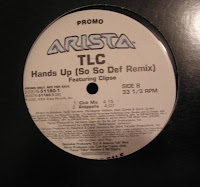 TLC feat Clipse - Hands Up (So So Def Remix)(Promo VLS) (2002)