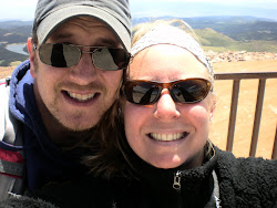 Atop Pikes Peak at 14,116 feet above sea level!