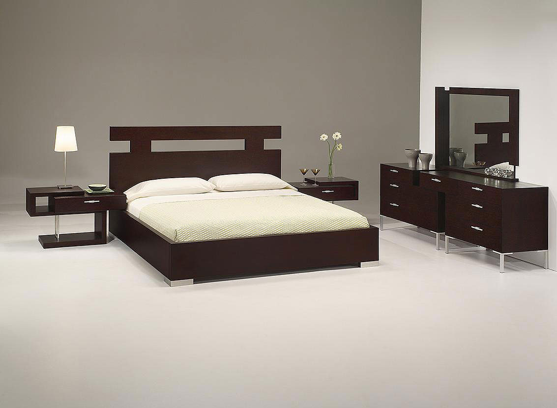 Latest furniture modern bed design for Design of bed furniture