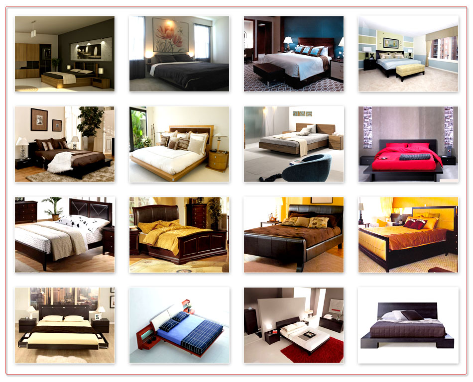 Latest Furniture: Bed and Dinning Designs