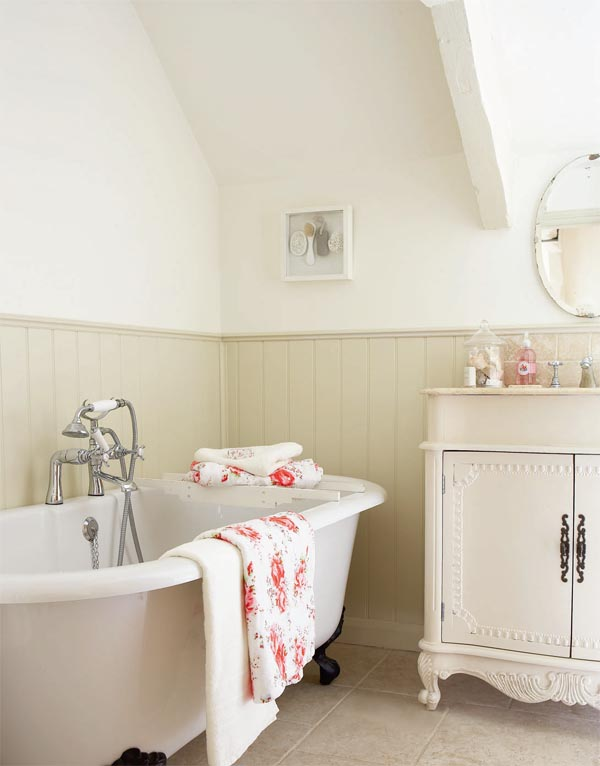 Baños Estilo Shabby Chic:English Country Cottage Bathroom