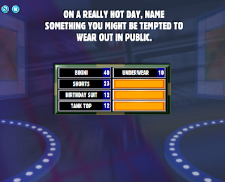 Hot day name something you might be tempted to wear out in public