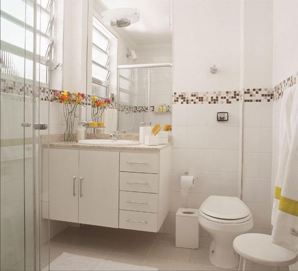 Por mim e sobre mim  Idéias iniciais para o banheiro -> Decoracao De Ceramica Para Banheiro Pequeno