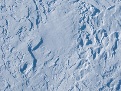 Wind Patterns On Snow At Mary Jane