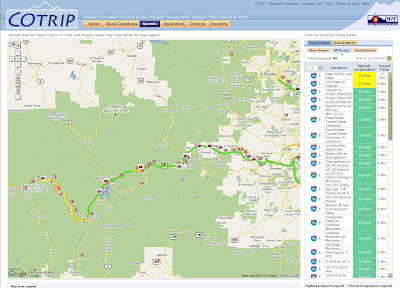 COTRIP Travel Map