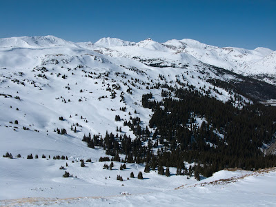 Loveland Pass View From Near Road