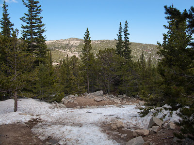 St. Mary's Glacier Snowshoe, Typical Trail