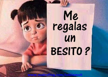 me regalas un besito?