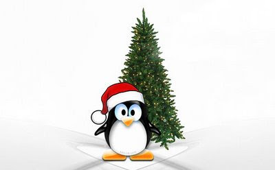 A penguin Christmas