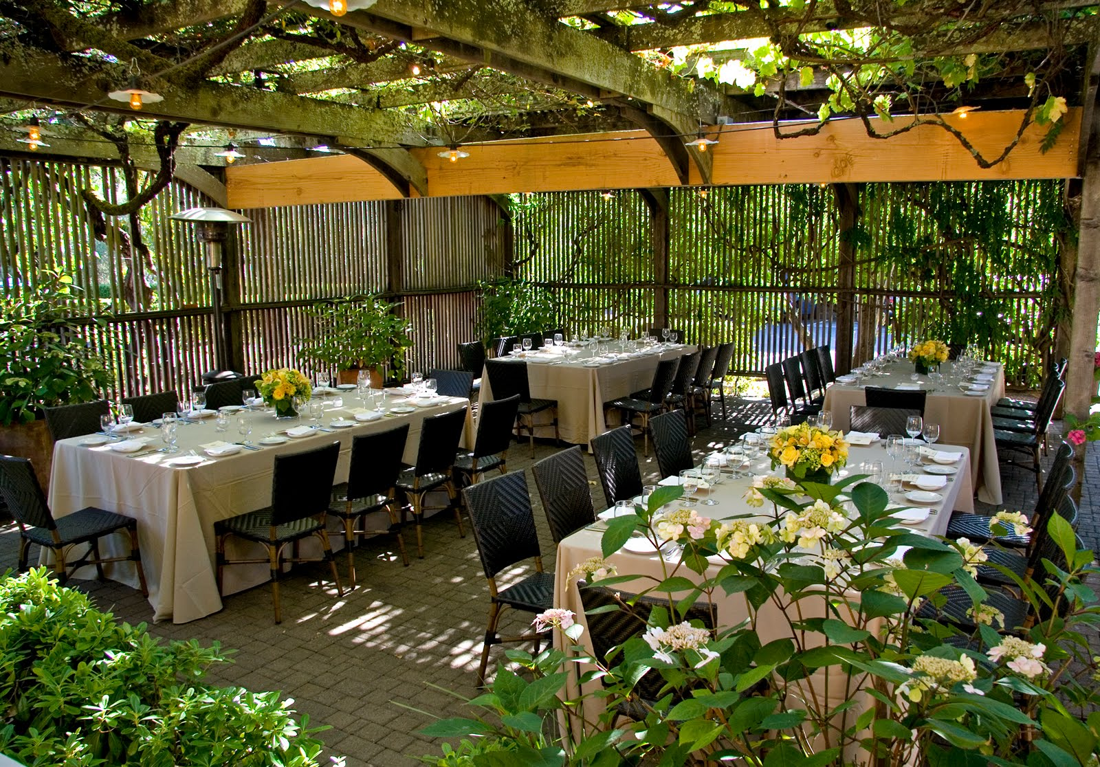 Small Wedding Reception Venues Houston : Front garden ideas small patio gardens wedding