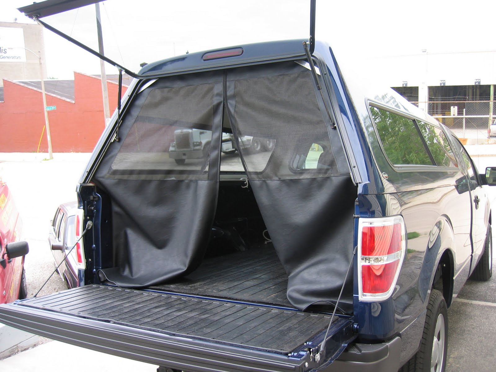 Homestyle Custom Upholstery and Awning: Truck Tent