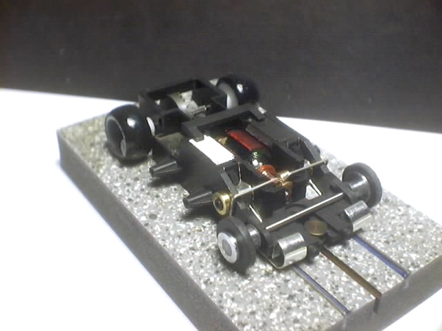 Ho Slot Car Speed Shop Wizzard Modified Storm 3 Ohm Arm Poly