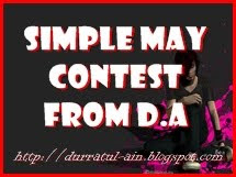 SIMPLE MAY CONTEST