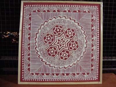 Himalayan Heritage Aipan Kumaoni Folk Art