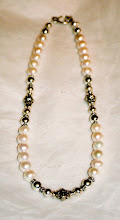 Wedding Collection - freshwater pearl and longer sections of Bali silver