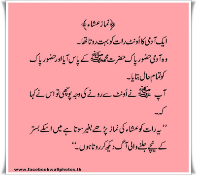 Urdu Pakistan: Ahadees-e-Nabawi ( Sayings Of Prophet Mohammad SAW )