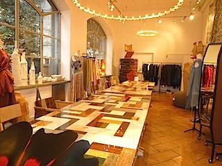 Galleria Rossana Orlandi店内写真1。
