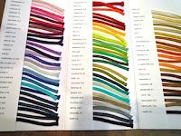 """老舗のメーカー"""" Le Prince du Sud """"オーダーのための色見本。"""