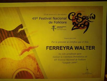 Walter Ferreira (FM Punta Borja)