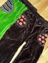 Bukser med lommer.