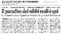 Rassegna stampa Gazzetta del Mezzogiorno 20 gennaio 2011