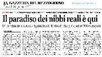 Rassegna stampa Gazzetta del Mezzogiorno 20 gennaio 2011