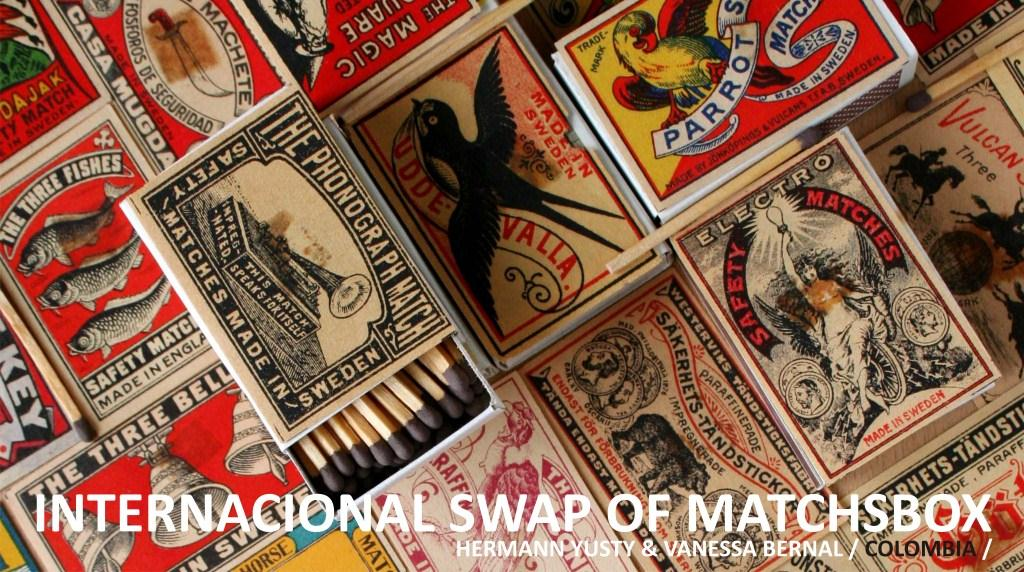 SWAP WOLD MATCHBOXES / INTERCAMBIO DE CAJAS DE FOSFOROS