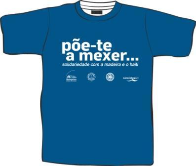 T-Shirt para a Caminhada 28/3/2010