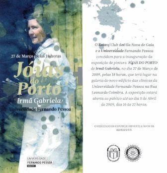 Exposição de Pintura - Jóias do Porto - 27 de Março de 2009