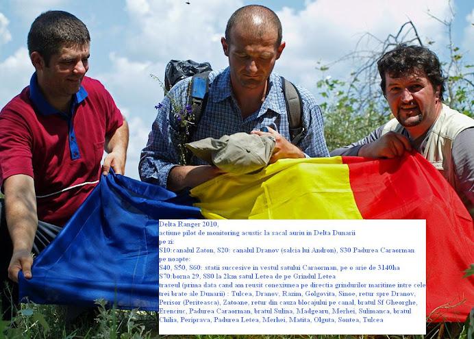 ACTIUNEA PILOT DE MONITORING in Delta Dunarii: CLICK pe FOTO