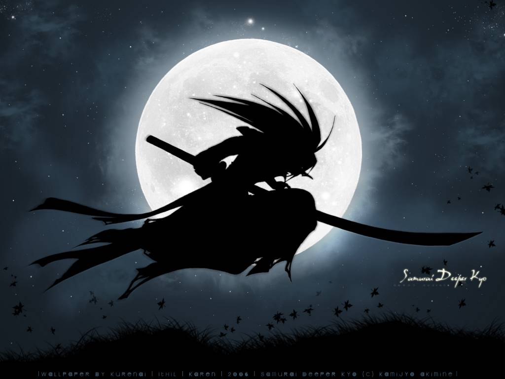 anime samurai wallpaper