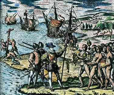 a reasoning of christopher columbus cruelty in his discovery of america Myth: columbus did not actually discover anything fact: columbus discovered americawhen he set sail in 1492, no one on either side of the atlantic knew the other was there his voyage initiated the first continuous engagement between the peoples of the european and american continents.