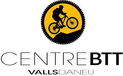 Logo o Logotipo del Centro de BTT Valls d'Àneu. Centro de bicicletas de montaña y excursiones en mountain bike