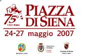 concorso internazionale ufficiale di Piazza di Siena