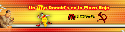 Un McDonalds en la Plaza Roja