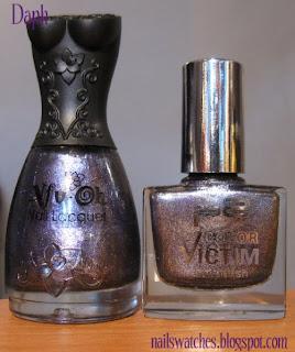 nfu oh 068 p2 gorgeous! purple foil comparison nail polish dupe nailswatches