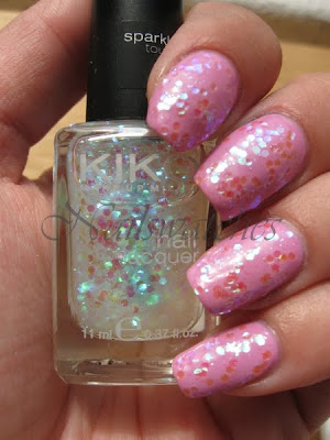 Kiko #2 002 Sparkle Touch Glitter Topcoat Ciaté Fun Fair