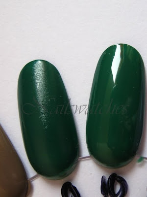 opi jade is the new black green creme essence show your feet in the jungle comparison nail polish
