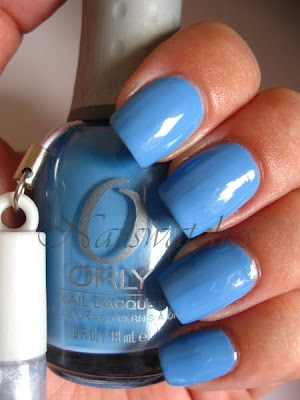 orly snowcone sweet collection 2010 nailswatches blue pastel creme