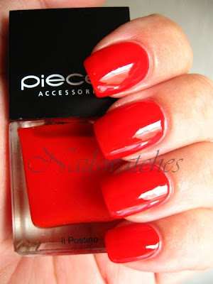 pieces nail polish nailpolish il postino red jelly nailswatches