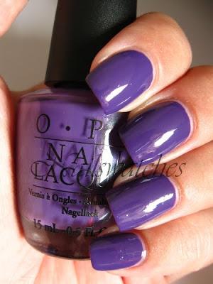 opi shrek collection 2010 funky dunkey purple creme grape nailswatches