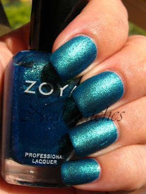 zoya charla blue dupe opi catch me in your net glass flecked sparkles collection 2010 nailswatches nailpolish nail polish swatch matte mattified essie matte about you