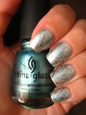 china glaze wizard of ooh ahz returns silver the ten man nailswatches nail polish nailpolish swatch konad konadicure stamping adore imageplate m60
