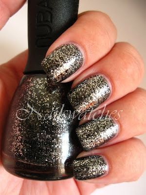 nubar knight's armor grey collection nailswatches nailpolish nail polish swatch