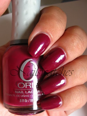 orly happily ever after once upon a time collection fall 2010 berry shimmer nailswachtes polish