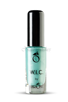 wic by herome world inspired colors canada collection fall/winter 2010 nail polish winnipeg light green shimmer frost nail polish nailswatches