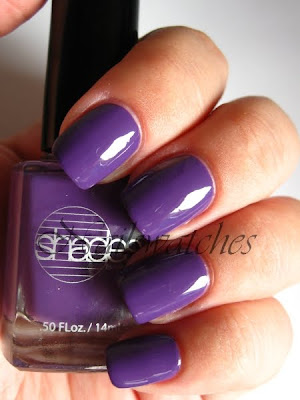 barielle grape escape funky dunkey dupe purple creme nailpolish nail polish sugar rush collection summer 2009 nailswatches